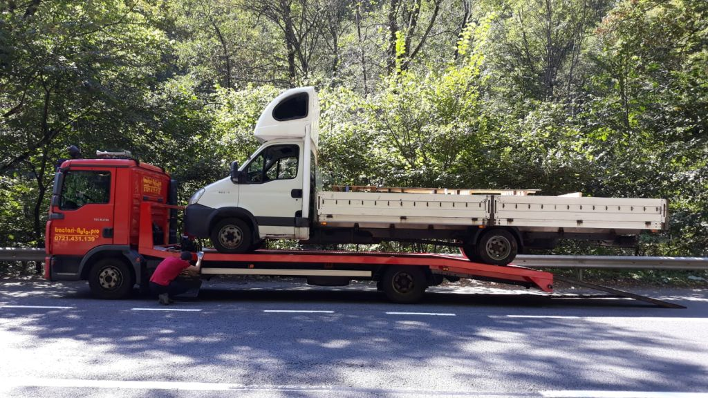 Tractare Iveco Daily
